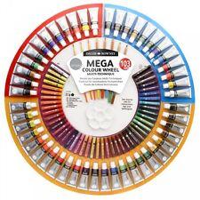 Daler Rowney Simply Mega Colour Wheel Set - Oil Acrylic Watercolour Oil Pastels