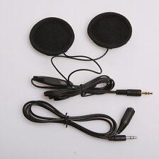 3.5mm Motorcycle Bike Helmet Headphones Speakers Stereo for MP3 iPod +94cm cable