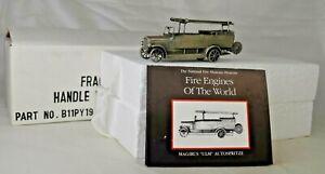 Pewter National Fire Museum Franklin Mint Magirus ULM Autospritze Fire Truck MB