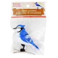 New Motion Sensor Sensing Realistic Chirping Bird Clips On ~ Blue Jay