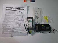 Progress/HAMPTON BAY UNIVERSAL Ceiling Fan Remote Control Wall Switch & RECEIVER