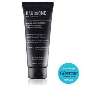 Handsome Facial Moisturiser 100mL Nourishing Face Moisturiser Men's Skincare