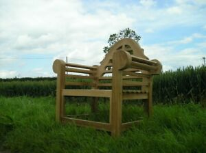 Lutyens Teak Garden Arm Chair - Deluxe