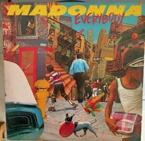 Madonna – Everybody 1982 LP Original very rare