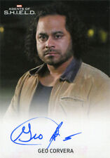 Marvel Agents of SHIELD Season 2 Autograph Card Geo Corvera as Francis Noche FB