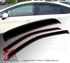 Vent Shade In-Channel Window Visor Sunroof 3pc Combo Ford Bronco II 84-90 Only