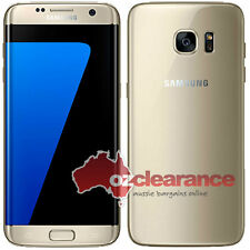 USED | SAMSUNG Galaxy S7 Edge | Gold Platinum | Cracked LCD | Faulty vibration