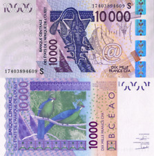 WEST AFRICAN STATES, GUINEA (GUINÉ) BISSAU,10000, 2017, Code S, P918s, UNC