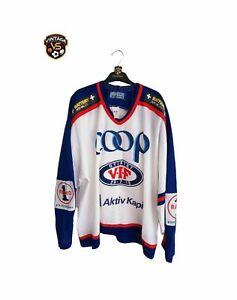 Vintage Valerenga Ice Hockey Jersey (XXL) Bauer Norway Shirt Eishockey Trikot