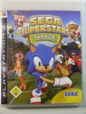 !!! PLAYSTATION PS3 SPIEL Sega Superstars Tennis, gebraucht aber GUT !!!