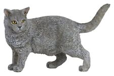 Chartreux Cat 54040 ~ Free Ship/Usa w/ $25.+ Papo Items