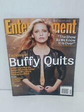 Entertainment Weekly #699 Buffy the Vampire Slayer Sarah Michelle Gellar Angel