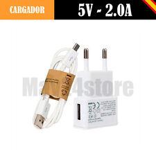 Cargador USB 5V 2A cable datos Type-C compatible BQ Aquaris X PRO