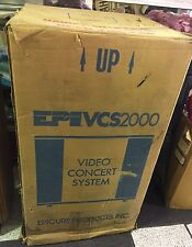 NEW EPI VCS 2000 Video Concert System Entertainment Center with Speaker System