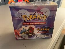 Call of legends pokemon booster box factory sealed FRENCH! Box a