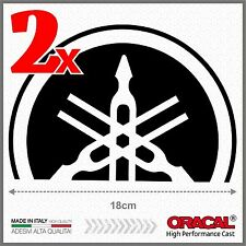 2x Black Yamaha Tmax 01-07 SMALL Diapason Scudo ADESIVI PEGATINA STICKERS