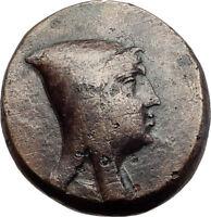 AMISOS in PONTUS 120BC Mithradates VI Quiver Authentic Ancient Greek Coin i64518