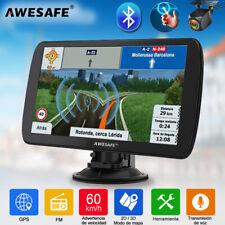 """9""""AWESAFE Navegador GPS para Coche con BT y Cámara Trasera con 8GB Europa Mapa"""