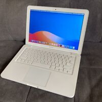 "Apple MacBook 13.3"" 2.26GHZ 4GB RAM 250GB HDD MacOS Catalina 10.15.7 - White"