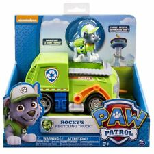 Paw Patrol Rocky's Recycling Truck Toy Figure & Vehicle