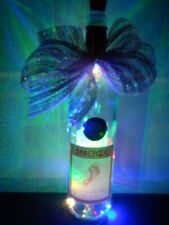 HANDMADE LIGHTED BOTTLE with Usb Rechargeable Led Cork Light Sting