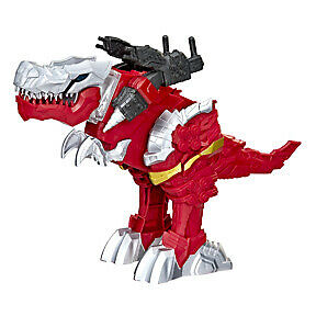 Power Rangers Battle Attackers Dino Fury T-Rex Champion Zord Electronic Figure