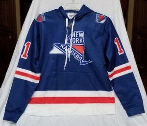NEW Lg New York Rangers Jersey Hooded #11 Messier