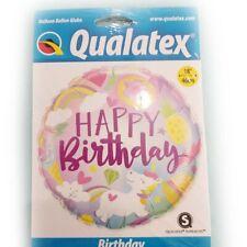 Palloncino Compleanno Happy Birthday Unicorno