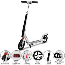Adult Kick Scooter Foldable Scooter Portable Ride Adjustable Lightweight