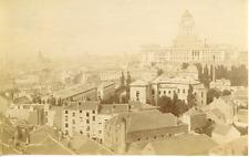 Bruxelles Vintage albumen print Tirage albuminé  10x14  Circa 1880