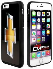 Cell Phone Case Cover Skin Clip for Apple iPhone 6 BLACK Chevy Bowtie Black Gold
