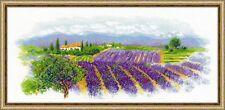 RIOLIS  1690  Provence en fleurs  Broderie  Point de croix  Compté