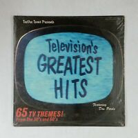 TELEVISION'S GREATEST HITS TVT1100 Dbl LP Vinyl VG++ Cover Shrink GF