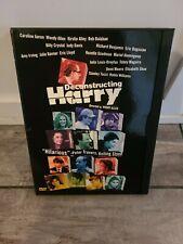 Deconstructing Harry DVD (1997) Woody Allen/Robin Williams Comedy Rare oop