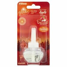NEW 3 X 20 ML  GLADE SPICED APPLE ELECTRIC PLUG IN REFILL