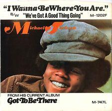 """#27 Michael Jackson I wanna be where you are (7"""" USA - 1972)"""