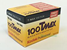 5 rolls Kodak 100 T-MAX 35mm 36exp Black and White Film 100TMAX