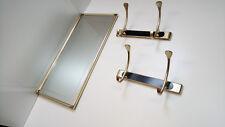 WANDGARDEROBE SPIEGEL KLEIDERHAKEN d. 70er Jahre 70s wardrobe wall mirror