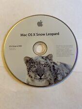 Mac OS X Snow Leopard 10.6 CPU Drop-In DVD