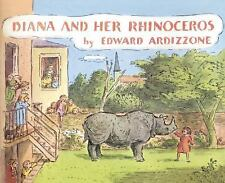 Diana and Her Rhinoceros-ExLibrary