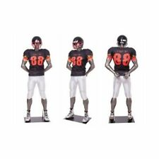 Male Football Player Mannequin - Muscular Sports Male Full Body Sports Mannequin