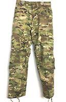NEW Multicam Army Combat Pants w Knee Pad Slots, Flame Resistant, Medium Short