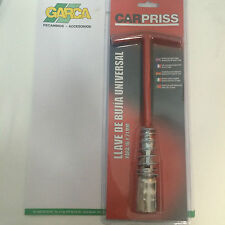 Juego llave Bujia, Para extraer bujías de 16mm /21mm , Universal adaptable