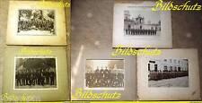 "5x Original-Fotos ""Schloßwache 1.Kompanie Garde-Jäger-Bataillon"",1910 v.Eichgrün"