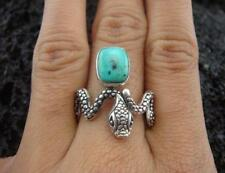 Turquoise Sterling Silver Handcrafted Rings