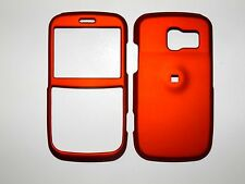 PANTECH LINK 7040 FOR AT&T SOLID BURNT ORANGE RUBBERIZED COVER NEW