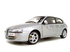 ALFA 147 SILVER 1:18 DIECAST MODEL CAR BY RICKO 32111