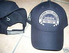NEW YORK YANKEES STADIUM HOUSE RUTH BUILT BASEBALL HAT