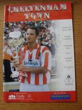 23/01/1999 Cheltenham Town v Northwich Victoria [Last Non League Season] (No app