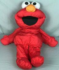 "1995 Hasbro Playskool 28"" Plush Nylon Puffalump Sesame Street Giant Elmo Doll"